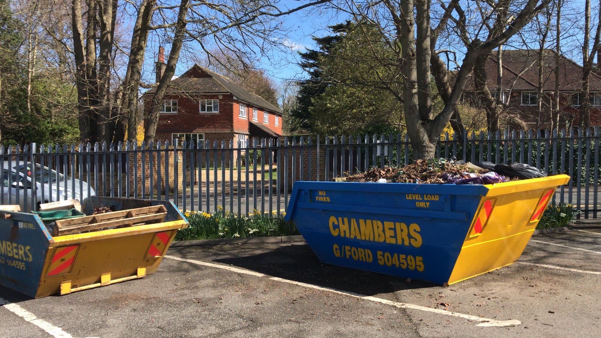 Chambers skips in use
